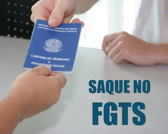SAQUE NO FGTS